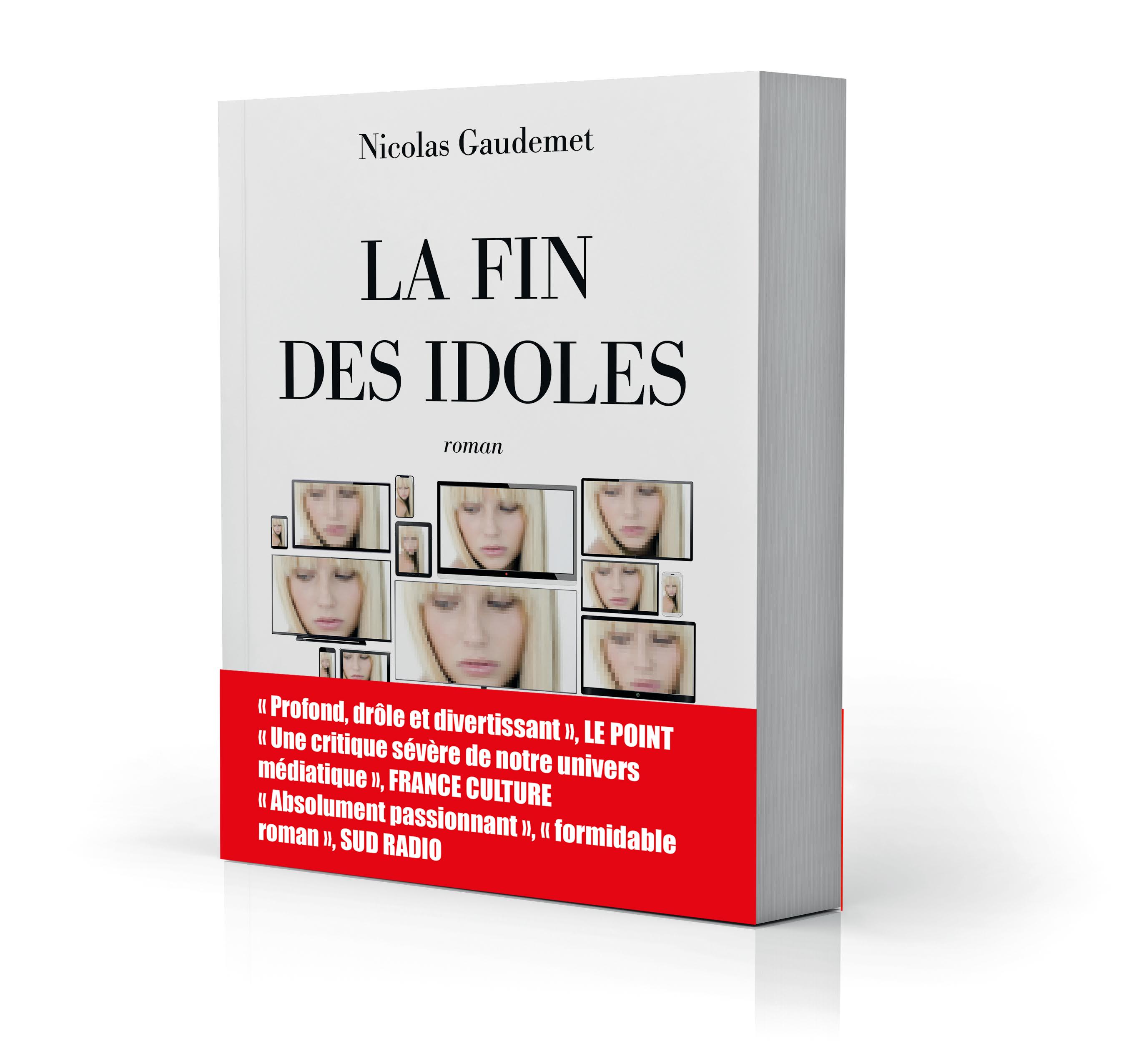 Jeremstar, Michel Onfray, Yann Barthès, Natacha Polony, Alain FInkielkraut dans La Fin des idoles