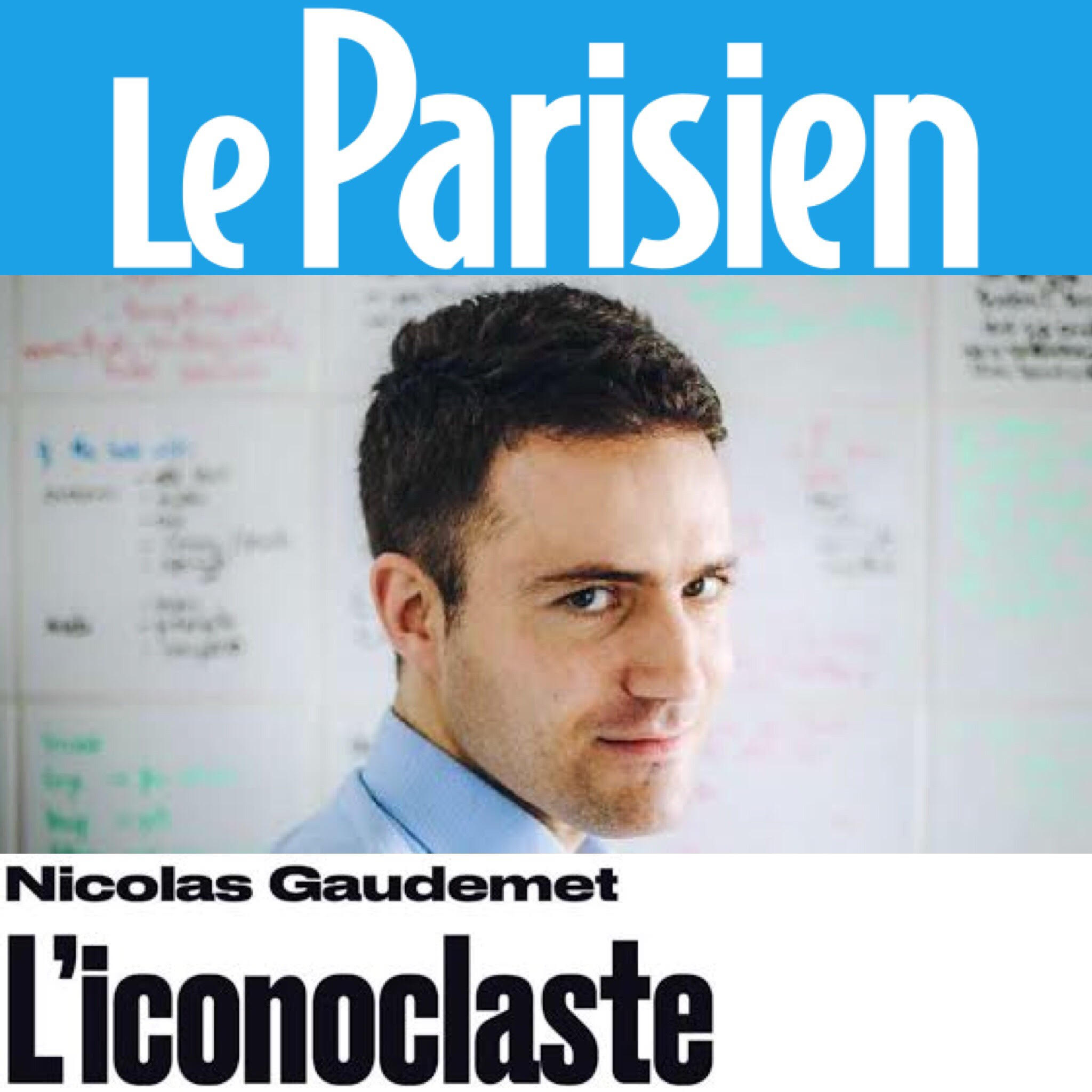 La Fin des idoles de Nicolas Gaudemet dans Le Parisien